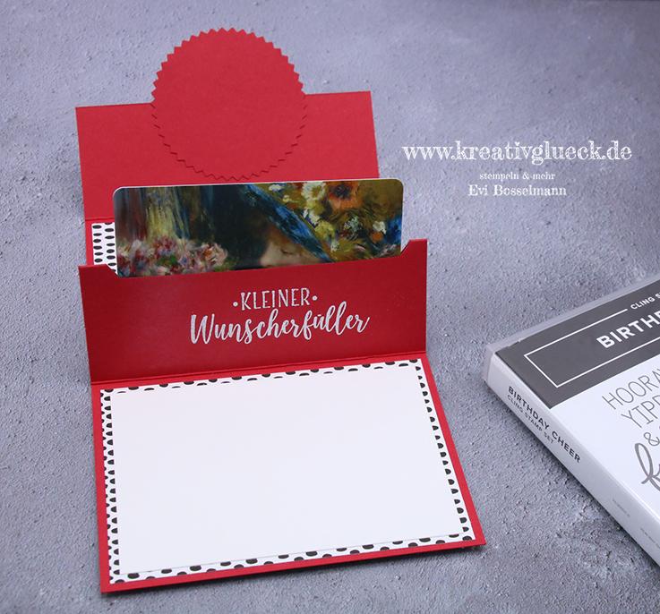 Videoanleitung für eine Geschenkkarte mit Magnetverschluss