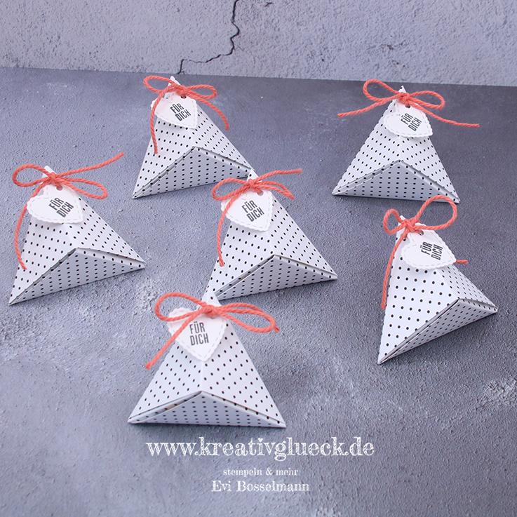 Origamiboxen als Gastgeschenke
