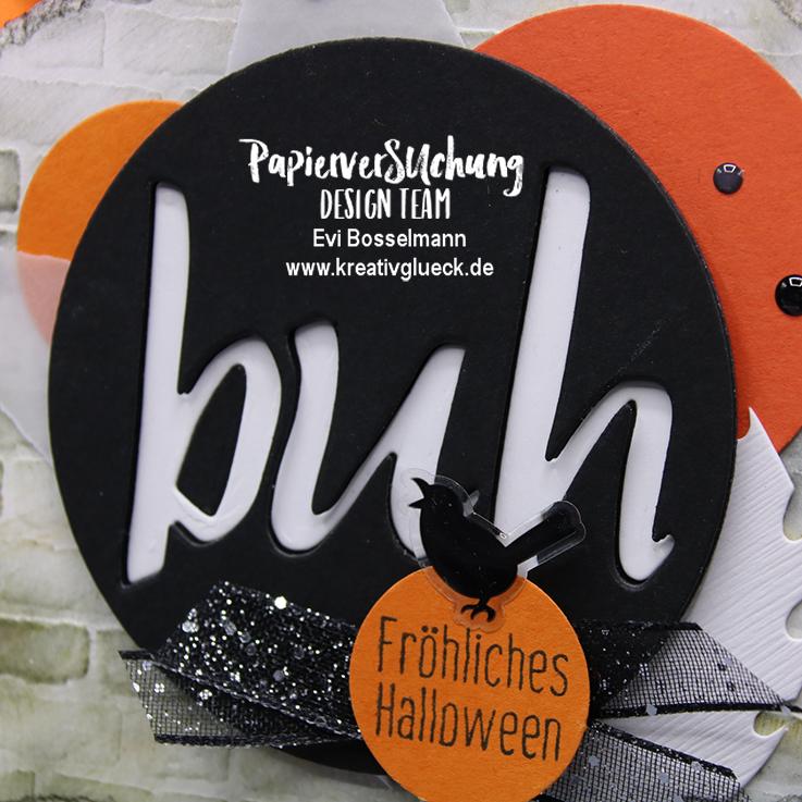 Türdekoration zu Halloween