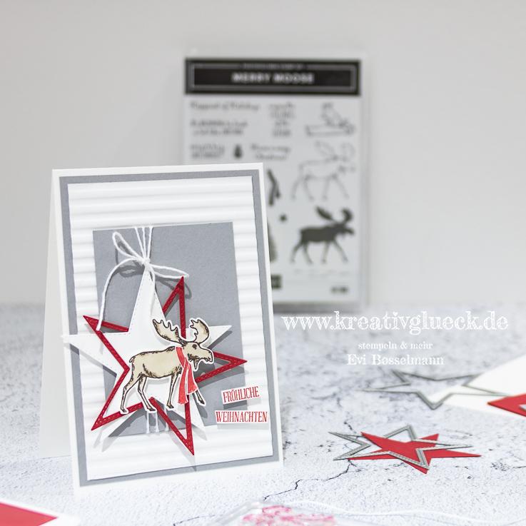 """Weihnachtskarte """"Fröhliche Weihnachten"""""""