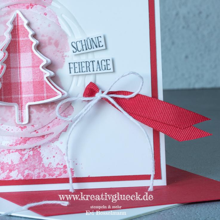 Weihnachtskarte Schöne Feiertage