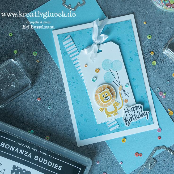 Geburtstagskarte für Kinder