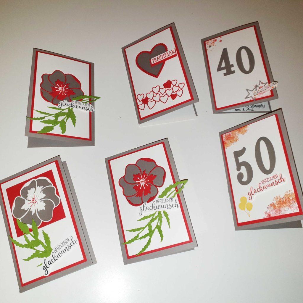 Glückwunschkarte mit verstecktem Geldschein