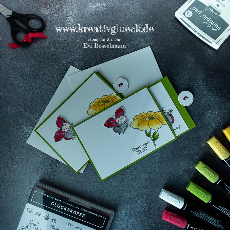 Magnet-Ziehkarte Glücksbringer für Dich