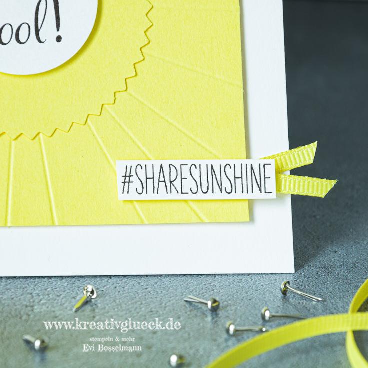 Bleib cool - #sharesunshine
