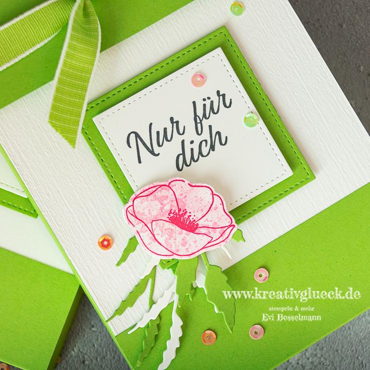 Geschenkbox für Karten mit Magnetverschluss