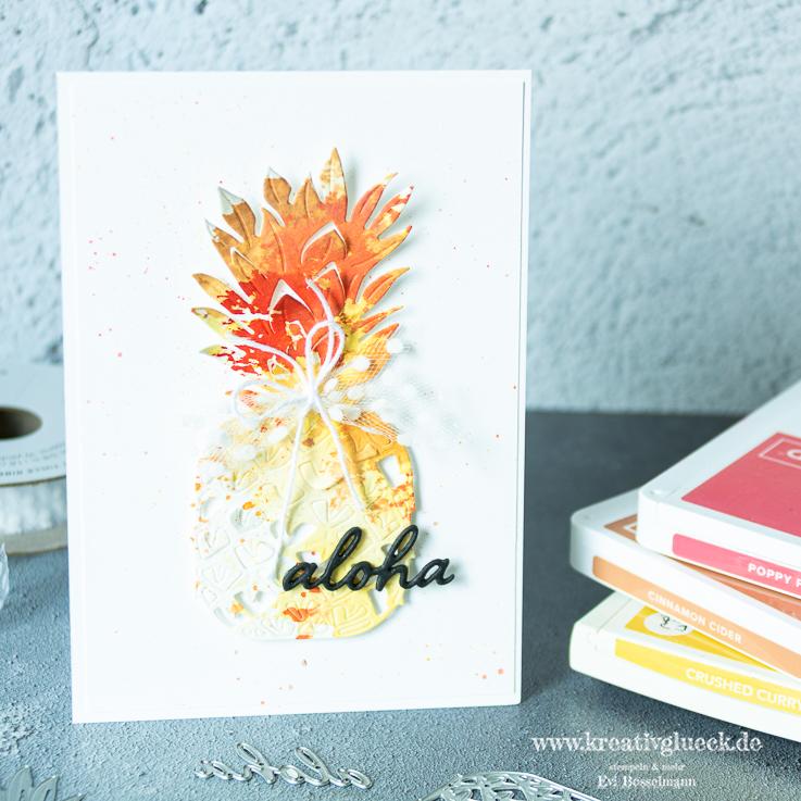 """Gute Laune Karte """"Aloha"""""""