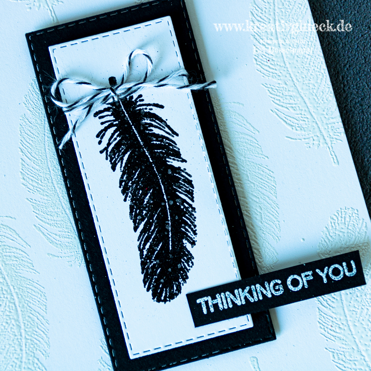 Trauerkarte Thinking Of You