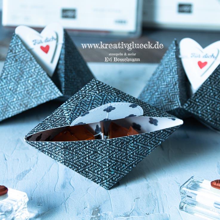 Dreieckige Zwillings-Box