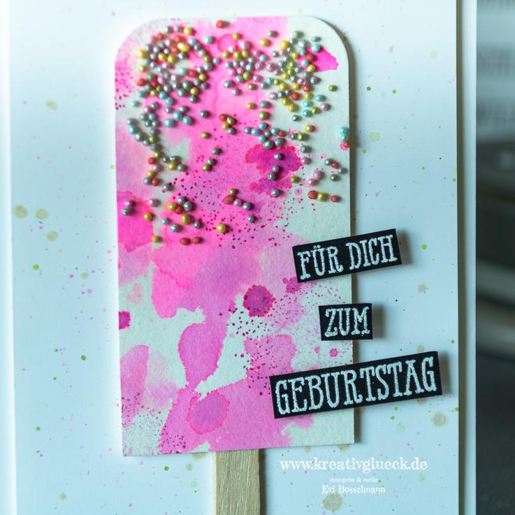 """Eiskarte """"Für Dich zum Geburtstag"""""""