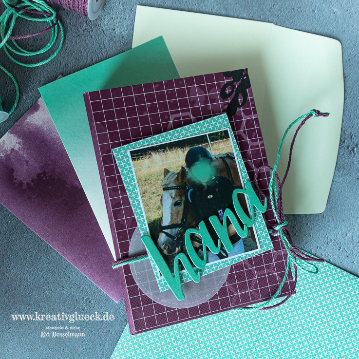 Minialbum aus Briefumschlägen