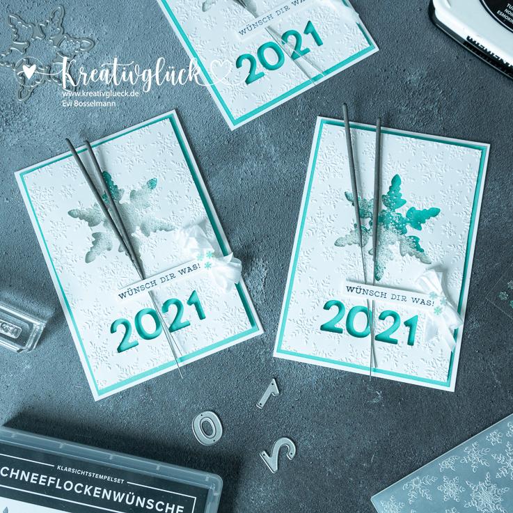 Wunsch-Karte fürs neue Jahr 2021